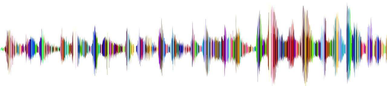 Sound Wave in Color